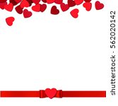 valentine's day holiday... | Shutterstock .eps vector #562020142