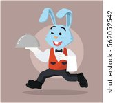 waiter rabbit running...
