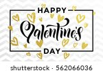 vector gold luxury hearts and...   Shutterstock .eps vector #562066036