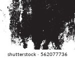 distressed black overlay... | Shutterstock .eps vector #562077736