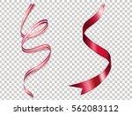 beautiful ribbons texture... | Shutterstock .eps vector #562083112