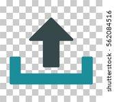 upload vector icon.... | Shutterstock .eps vector #562084516