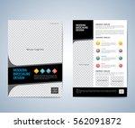 business brochure flyer design... | Shutterstock .eps vector #562091872
