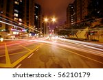 modern urban city with freeway...   Shutterstock . vector #56210179