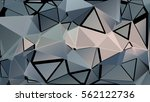 abstract pattern consisting of... | Shutterstock .eps vector #562122736