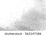 distressed grainy thread... | Shutterstock .eps vector #562147186