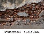 rustic old derelict charming... | Shutterstock . vector #562152532