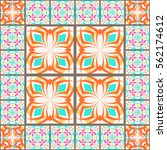 vector seamless texture.... | Shutterstock .eps vector #562174612