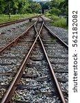 rustic old derelict... | Shutterstock . vector #562182082
