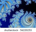 Dark And Blue With Spirals...