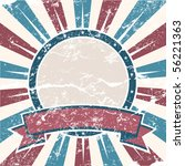 old colors american background... | Shutterstock .eps vector #56221363