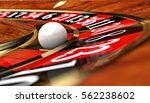classic casino roulette and... | Shutterstock . vector #562238602