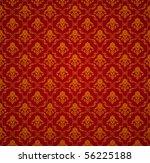 Red Seamless Wallpaper Pattern  ...