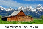 Grand Tetons And The T.a....