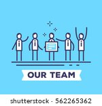 vector business illustration of ... | Shutterstock .eps vector #562265362