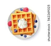 breakfast menu item sweet...   Shutterstock .eps vector #562269325