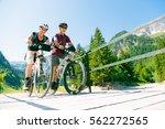 active senior couple | Shutterstock . vector #562272565