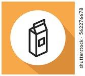 milk vector icon | Shutterstock .eps vector #562276678