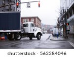 modern compact powerful semi...   Shutterstock . vector #562284046