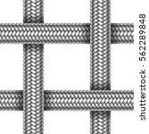 vector seamless pattern of... | Shutterstock .eps vector #562289848