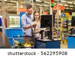 shopping  sale  consumerism and ... | Shutterstock . vector #562295908