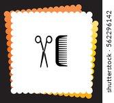 hairdresser  icon. vector...   Shutterstock .eps vector #562296142