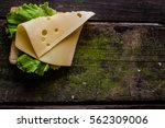 Sandwich With Cheese And...