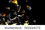 abstract background macro... | Shutterstock . vector #562314172