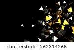 abstract background macro... | Shutterstock . vector #562314268
