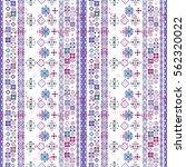 ethnic boho seamless pattern....   Shutterstock .eps vector #562320022