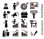 business icon set | Shutterstock .eps vector #562349866
