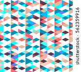 pattern with triangles .... | Shutterstock .eps vector #562359916