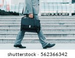 close up of businessman with a... | Shutterstock . vector #562366342