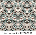 Kaleidoscope Seamless Pattern....