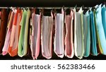 traditional filing cabinets... | Shutterstock . vector #562383466