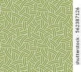 vector linear seamless pattern. ... | Shutterstock .eps vector #562387126
