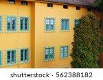 beautiful building's facade   Shutterstock . vector #562388182