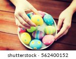 easter  holidays  tradition and ... | Shutterstock . vector #562400152