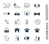 vet  pet icon | Shutterstock .eps vector #562425292