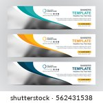 abstract web banner design... | Shutterstock .eps vector #562431538