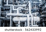 industrial zone the equipment... | Shutterstock . vector #562433992
