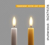 candles burn with fire... | Shutterstock .eps vector #562474156