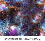 spase background. seamless... | Shutterstock . vector #562495972