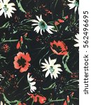 the beautiful of art fabric... | Shutterstock . vector #562496695