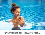 retreat and vacation..... | Shutterstock . vector #562497862