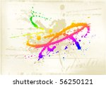 abstract  art background | Shutterstock .eps vector #56250121