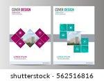 abstract flyer design... | Shutterstock .eps vector #562516816