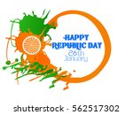republic day | Shutterstock .eps vector #562517302