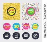 gold glitter and confetti...   Shutterstock .eps vector #562532542