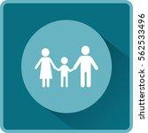 flat icon family. | Shutterstock .eps vector #562533496